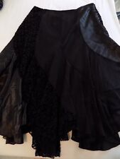 Nygard Collection Black Skirt ~ Size 10 Petite