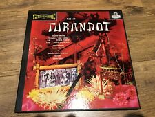 LONDON OSA 1308 FFSS BlueBack WB Puccini Turandot Borkh Tebaldi LP Records NM