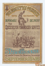 Family Dog D2 Haw Haw Postcard Quicksilver Messenger Service 1967 Sep 15