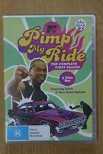 Pimp My Ride : Season 1 (DVD, 2005, 3-Disc Set)  -  VGC Pre-owned (D49)