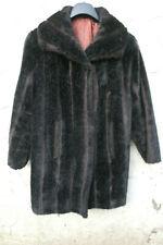 Simulated Fur 3/4 Coat.