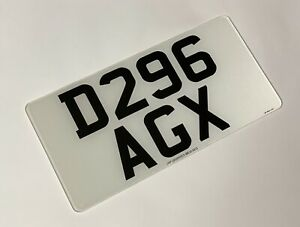 Front 12x6 road legal Import Number Plate 100% MOT Compliant Free Post