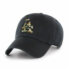 47 BRAND Adjustable Cap - Camofill La Dodgers schwarz