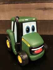 Tomy Ertl John Deere Push-n-Roll Soft Rubber Bodied Johnny Tractor (only)