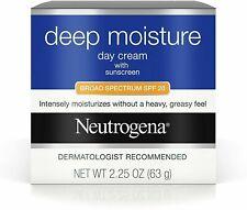 Neutrogena Deep Moisture Day Cream Broad Spectrum SPF 20 2.25 EXPIRE 2021