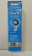 NEW 3 Oral-B Precision Clean High-Low Bristles Brush Heads 97425211