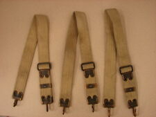 Original Us 1903 First Pattern Mills Cartridge Belt Suspender Strap Parts Set