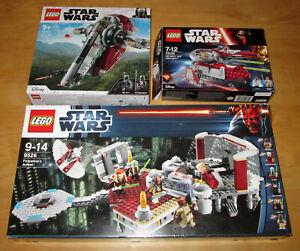 LEGO Star Wars drei Sets 9526 75132 75135 mit OVP u. BA !!! OHNE FiGUREN !!!