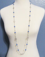 "Lia Sophia Jewelry Cloven 40-43"" Necklace in Silver RV$74"