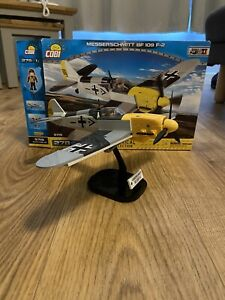 COBI WW2 Messerschmitt BF 109 German fighter plane 5715