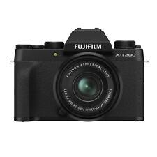 Fujifilm X-T200 schwarz inkl. XC 15-45mm 1:3,5-5,6 OIS PZ