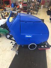 "Clarke Focus II L20 BOOST 05361A 20"" Battery Walk Behind Orbital Floor Scrubber"