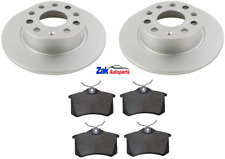 FOR SEAT LEON SC 1.2 1.4 1.6 TDi 2013-2017 REAR BRAKE DISCS & PADS (CHECK SIZE)