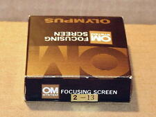 OLYMPUS OM FOCUSING SCREEN 2-13 NEW IN BOX