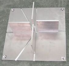 "Model Rocket Fin Alignment Jig 12"" Precision Aluminum HPR MPR Estes Aerotech PML"