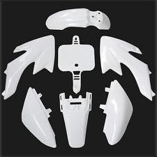 CRF50 Plastics Body Fairing Kit for Honda Atomik Thumpstar Dirt Pit bike White