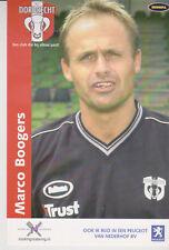 AUTOGRAMMKARTE / AUTOGRAPHCARD Marco Boogers FC Dordrecht 2003/2004