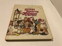 Great Sports Humor by Mac Davis hardcover illustrated