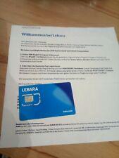 Lebara Prepaid Karte 30€ Startguthaben D1 Telekom
