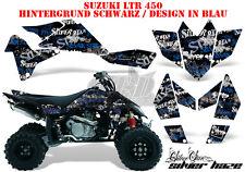 Amr racing décor Graphic Kit ATV suzuki ltr 450 Lt-r niac silverhaze B