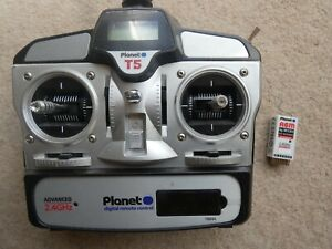 PLANET 5 RC SET. UNBOXED/ HARDLY USED, includes neck loop