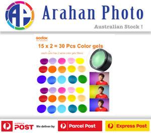Godox V-11C Creative Color Gel Set for Godox AK-R1