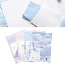 Stationery 3 Letter Envelope Set + 6 letter paper writing Variety cute pape V2L6