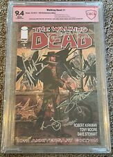 Walking Dead #1 - 10th Anniversary Edition - CBCS 9.4 - Cast Signed - Rare!