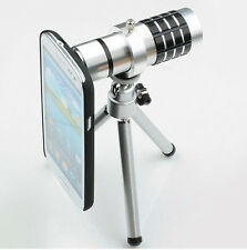 TELESCOPE Aluminum 12X Zoom Telescope Lens Camera For Samsung Galaxy S3 i9300