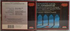 DONIZETTI-LUCIA DI LAMMERMOOR SCOTTO PAVAROTTI -MOLINARI PRADELLI 2-CD-BOX(W136)