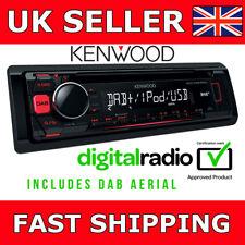 Kenwood KDC-DAB400U CAR STEREO CD MP3 USB Radio digitale DAB Antenna Inc