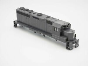 Athearn HO Scale Undecorated GP40-2 Diesel Locomotive (SHELL ONLY)