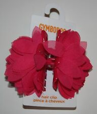 New Gymboree Turtle Beach Pink Flower Hair Clip Accessory NWT Girls or Ladies