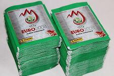 PANINI EM EURO 2008 08 – 200 cartocci packets BUSTINE sobres, Shiny Green, MINT!