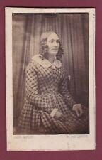CDV WEYLER - 210314 - Photographie d'un daguerréotype d'une femme