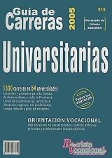 USED (LN) Guia de Carreras Universitarias (Spanish Edition)