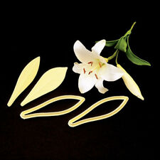 FMM Cutter Exotic Lily Embosser Cake Icing Flower Tool Sugarcraft