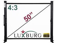 "Luxburg® 50"" 101x76cm Full HD 3D Table Desk Projector Screen"