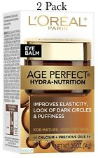 L'Oreal Paris Age Perfect Hydra Nutrition Eye Balm-0.5 oz~2 Pack