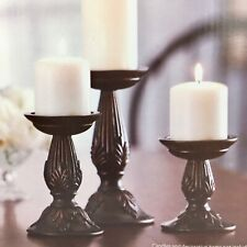 Pillar Brass Candle Holders Accessories For Sale In Stock Ebay