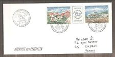 LETTRE FRANCE TAAF TERRES AUSTRALES FDC 1971 PA N°26A OBLITERE USED 1ER JOUR