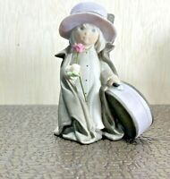 Vintage Enesco 1997 Porcelain Figurine I Can't Wait To See You #324167
