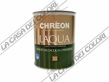 CHREON LAQUA - BIANCO OPACO - 0,750 lt - SMALTO ALL'ACQUA