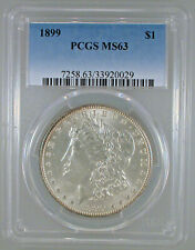 1899-P Morgan Dollar MS-63 PCGS Certified