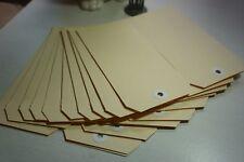 Shipping/Gift Tags Manila/Buff - 40 tags (unstrung) - 147x73mm (Size 7) - DIY