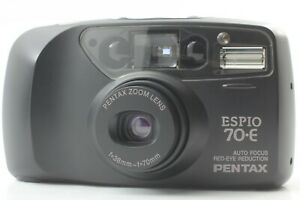 【Mint+3】Pentax ESPIO-70E 35mm Point & Shoot Film Camera From JAPAN #580