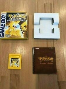 Pokémon  Version Jaune - Edition Spéciale Pikachu (Nintendo Game Boy, 1999)