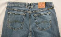 LUCKY BRAND DUNGAREE'S AMERICAN CLASSIC SWEET N LOW BLUE JEANS SIZE 14/32
