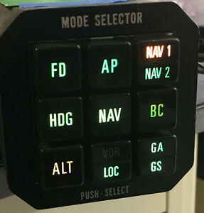 ARC S-550A Mode Selector, yellow tag, free shipping