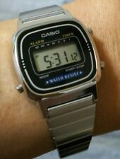 CASIO Watches Standard LA-670WA-1JF quartz Silver Black Women Japan Import
